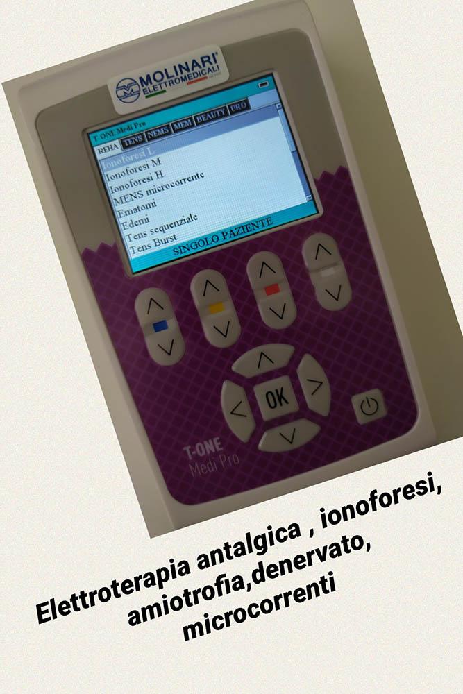 elettroterapiaStudio Fisioterapico Dott.ssa Elena Martinelli